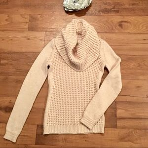 Anthropologie Angel of the North Cowl-neck sweater